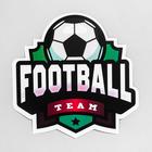 "The sticker on the car ""Football"", 15 x 15 cm"