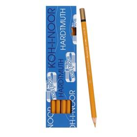 Карандаш акварельный Koh-I-Noor Mondeluz 3720/029, охра светлая, 175 мм, грифель 3.8 мм, ЦЕНА ЗА 1 ШТ