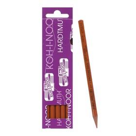 Карандаш цветной цельнографитовый Koh-I-Noor 8750/011 Progresso, в лаке, сиена натур