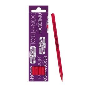 Карандаш цветной цельнографитовый Koh-I-Noor 8750/132 Progresso, в лаке, красный кармин