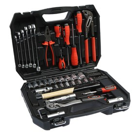 A set of automotive tools VIRA RAGE 305103, 56 objects, in a case