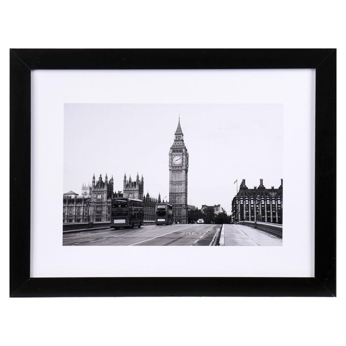 """Картина """"Прогулка по Лондону"""" 33х43 см - фото 783896"""