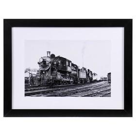 "Картина ""Поезд"" 33х43 см"