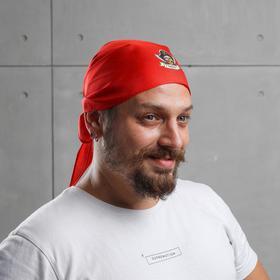 Бандана пиратская «Капитан», 110х40см