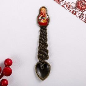 Ложка-матрёшка сувенирная «Русские мотивы»
