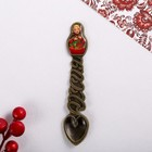 Spoon matryoshka gift Ryabina, 2.3 x 11 cm
