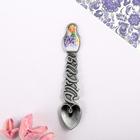 "Spoon matryoshka souvenir ""lilac"", 2.3 x 11 cm"