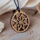 "Wooden pendant ""Star stone"""