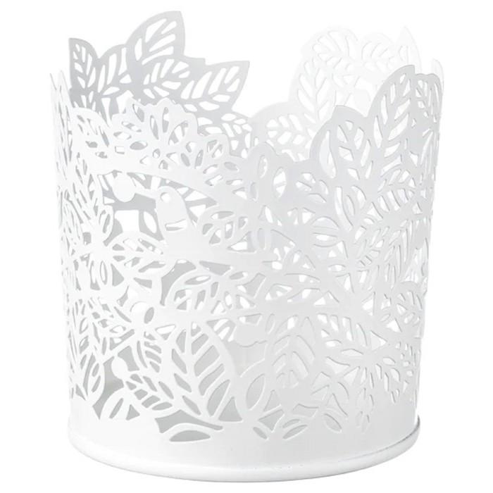 Подсвечник для греющей свечи САМВЕРКА, 8 см, цвет белый