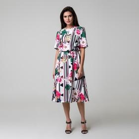 Платье женское MIST миди, р-р 40-42, белый