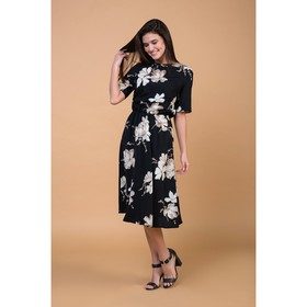 Платье женское MIST миди, р-р 40-42, чёрный