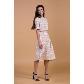 Платье женское MIST миди, р-р 44-46, белый