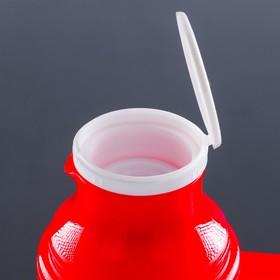 Термос питьевой с ручкой Day Days, 1 л, 2 кружки, микс - фото 1966457