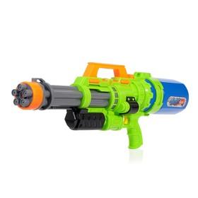 Водный пистолет «Вирус», с накачкой, 70 см, цвета МИКС