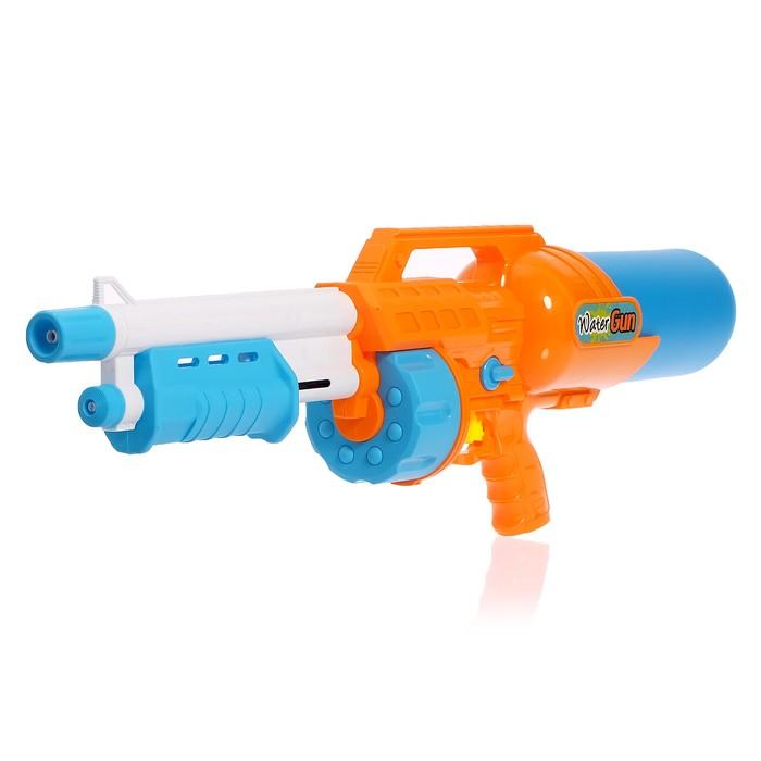 Водный пистолет «Реактор», с накачкой, 81 см, цвета МИКС
