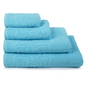 Terry towel Rainbow PD-2701-04352 color 14-4615 30x70 cm, turquoise, chl. 100%, 305g / m2
