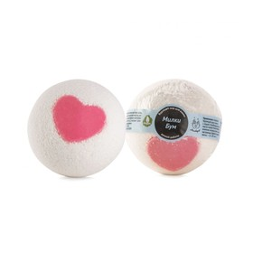 """Бурлящий шар для ванны Мыловаров """"Милки Бум"""", 150 г"""