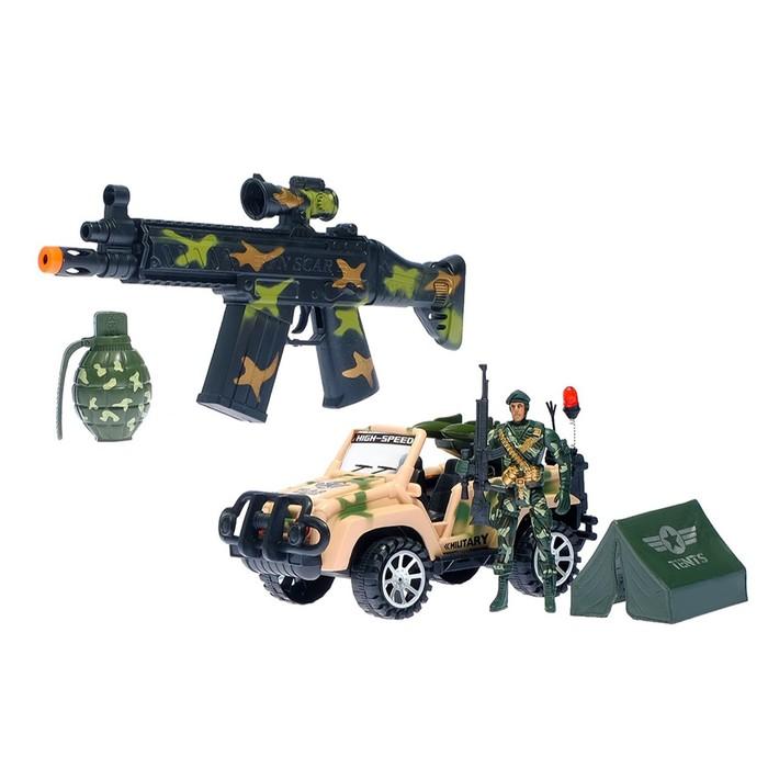Набор военного «Славная миссия», 5 предметов, в пакете