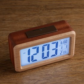 """Watch electronic """"Lamely"""" (alarm clock, date, thermometer) 14×8×5 cm"""
