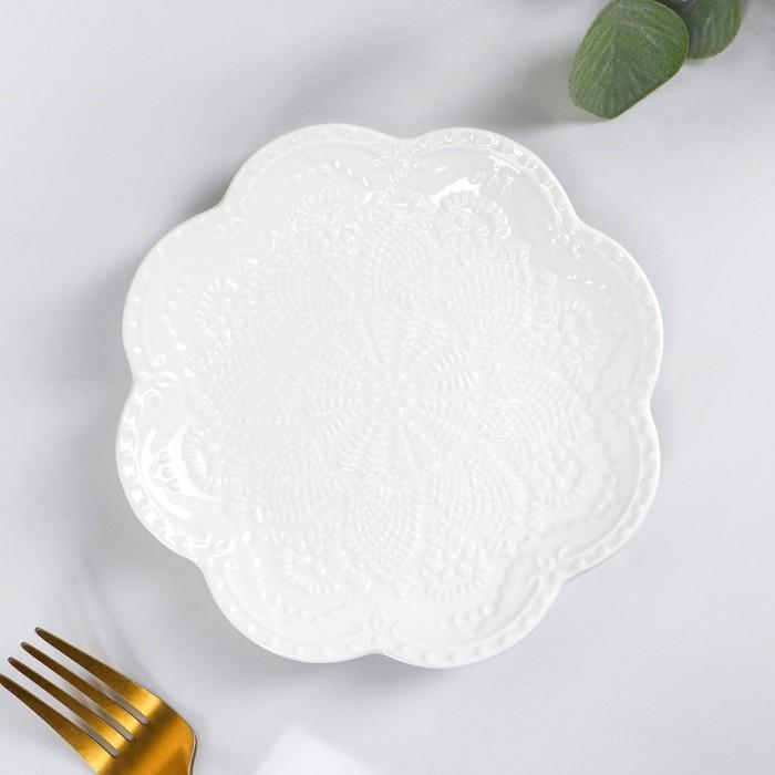 Dessert plate Susan 15,5x2 cm, color white