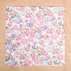 Ацетатный лист «Букет», 30,5 × 30,5 см