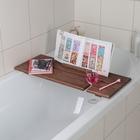 Полка для ванной SPA, с покрытием, цвет коричневый