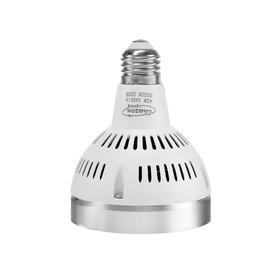 Лампа светодиодная PAR30, 15 deg, E27, 40 Вт, 3400 Лм, 220 В, 6500 К, корпус белый
