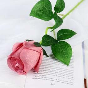 "Artificial flowers ""rose Naturel"" 6*44 cm, dirty pink"