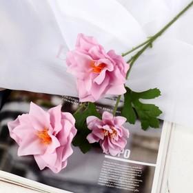 "Artificial flowers ""Valotta lush"" 9*60 cm, purple"