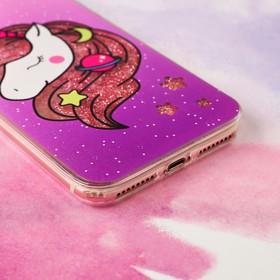 Чехол - шейкер для телефона iPhone 7-8 Plus Miracle, 15,8 х 7,7 см - фото 70869