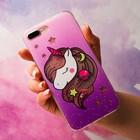 Чехол - шейкер для телефона iPhone 7-8 Plus Miracle, 15,8 х 7,7 см - фото 70867
