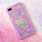 Чехол - шейкер для телефона iPhone 7-8 Plus Meow, 15,8 х 7,7 см