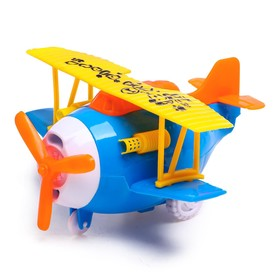 "Wind-up toy ""Airplane"", MIX colors"