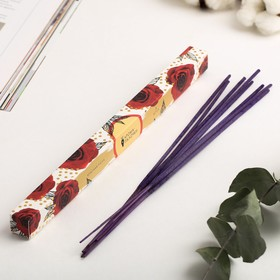 """Incense sticks """"Buds"""", 8 PCs, the fragrance of the red rose"""