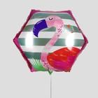 "Balloon foil 20 polygon"" ""Flamingo"""