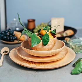 {{photo.Alt || photo.Description || 'Набор тарелок из натурального кедра Mаgistrо, 4 шт: 33×2,5 см, 26×2,8 см, 22×4,5 см, 14×7,5 см'}}