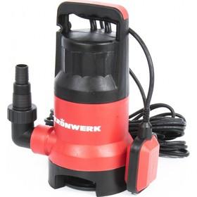 Насос дренажный для грязной воды Kronwerk KP800, 800 Вт, подъем 8 м, 13000 л/ч
