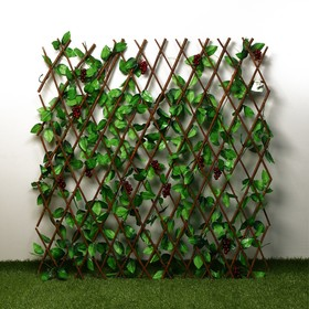 Ограждение декоративное, 200 × 120 см, «Виноград», Greengo Ош