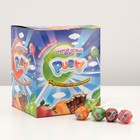 "The caramel candy on a stick, assorted fruit, TM ""Pusk!"", in the show box, 12*100 12g"