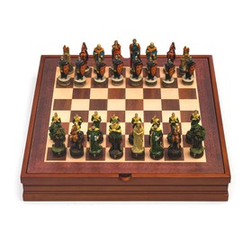 "Шахматы сувенирные ""Робин Гуд"" (доска 36х36х6 см, h=8 см, h=6 см)"