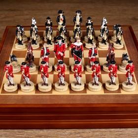 """Шахматы сувенирные """"Гражданские войны"""" (доска 36х36х6 см, h=8 см, h=6 см)"""