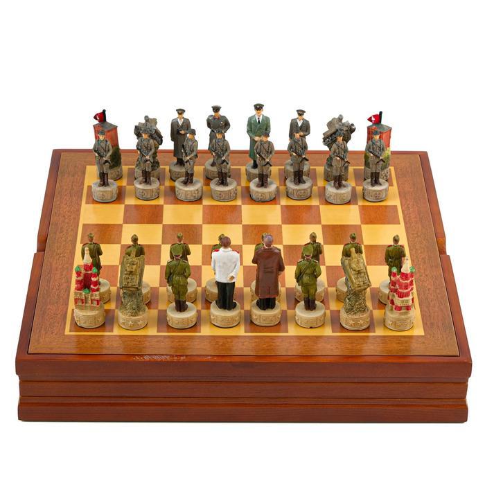 "Шахматы сувенирные ""Победные"" (доска 36х36х6 см, h=8 см, h=6 см)"