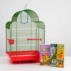 CHRISTMAS CAMPAIGN FOR MEDIUM BIRDS! Cage, food, feeding, calcium