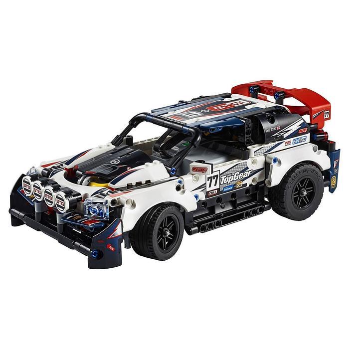 Конструктор «Гоночный автомобиль Top Gear на радиоуправлении»