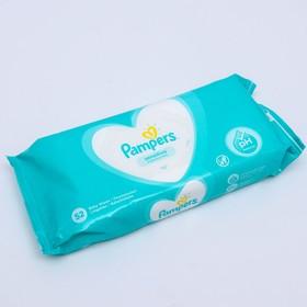 Влажные салфетки Pampers Sensitive, детские, 52 шт.