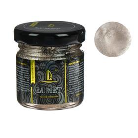 Краска органическая - жидкая поталь Luxart Lumet, 33 г, металлик (шампань, золото) «Белое Полусладкое», спиртовая основа, повышенное содержание пигмента, в стеклянной банке