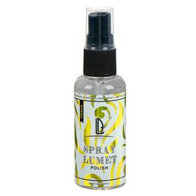 Лак на спиртовой основе, 50 г (спрей), глянцевый, не липкий LUXART Lumet Spray Polish