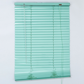 Blinds horizontal 60x160 cm, color green European