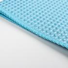Салфетка для уборки, супермягкая, 30×30 см, цвет МИКС - фото 4643779