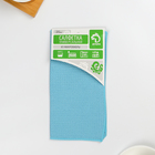 Салфетка для уборки, супермягкая, 30×30 см, цвет МИКС - фото 4643781